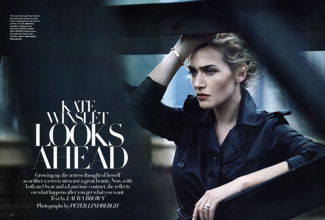 Annie Leibovitz, Nuff Said – Nadia Audigié Photography Blog Kate Winslet Official Site